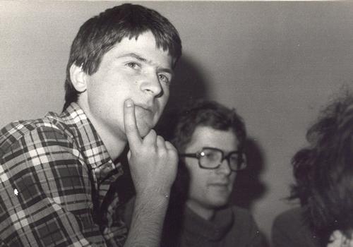 Mój starszy brat Arkadiusz był, obok Aleksandra Halla, jednym z założycieli podziemnego Ruchu Młodej Polski. Razem 1980 rok