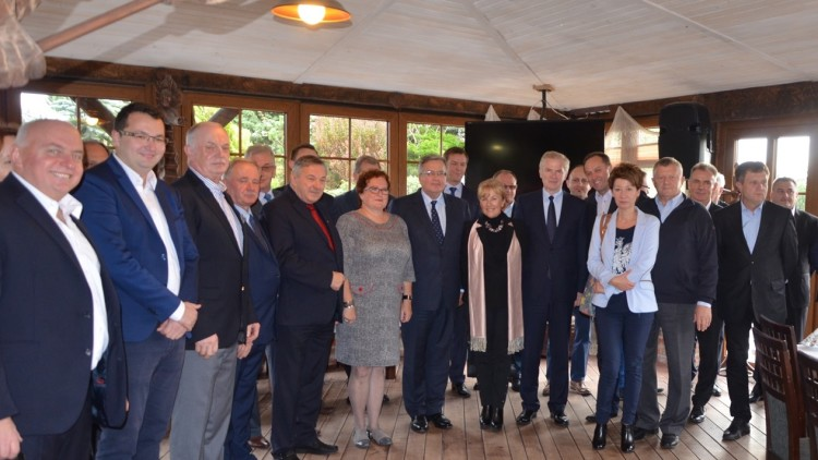 Spotkanie z samorządowcami z Powiatu Puckiego.