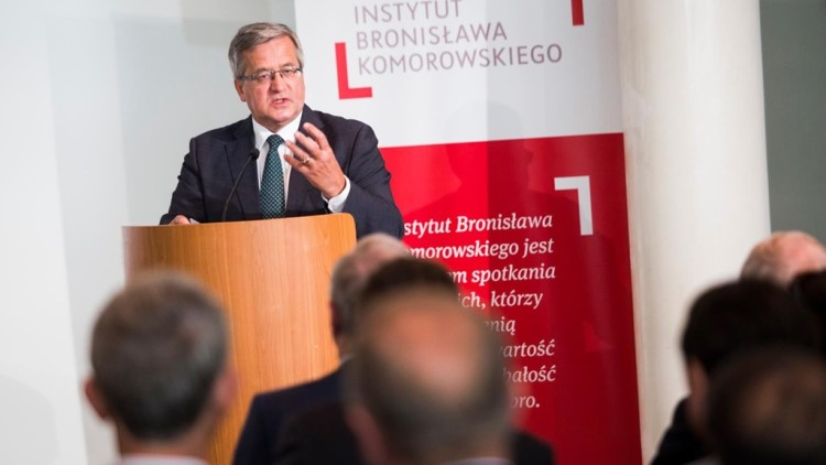 Konferencja w Instytucie Bronisława Komorowskiego