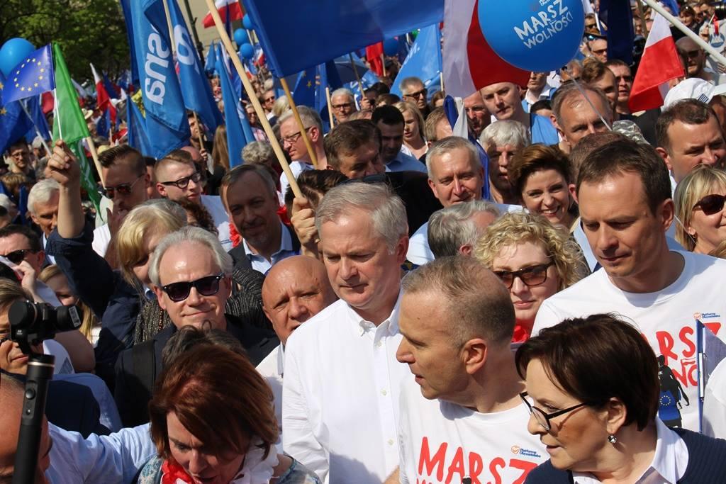 Marsz Wolności w Warszawie