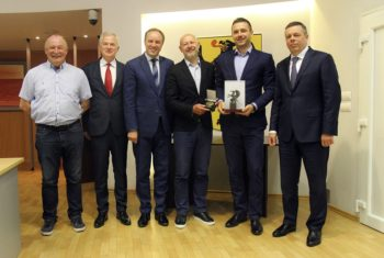 Sejmik uhonorował sportowców