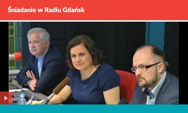 Śniadanie w Radiu Gdańsk, 15.05.2017 r.