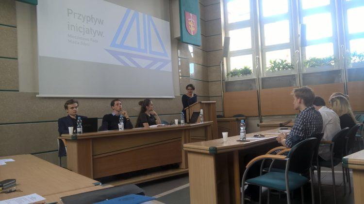 Sesja Młodzieżowej Rady Miasta Gdyni
