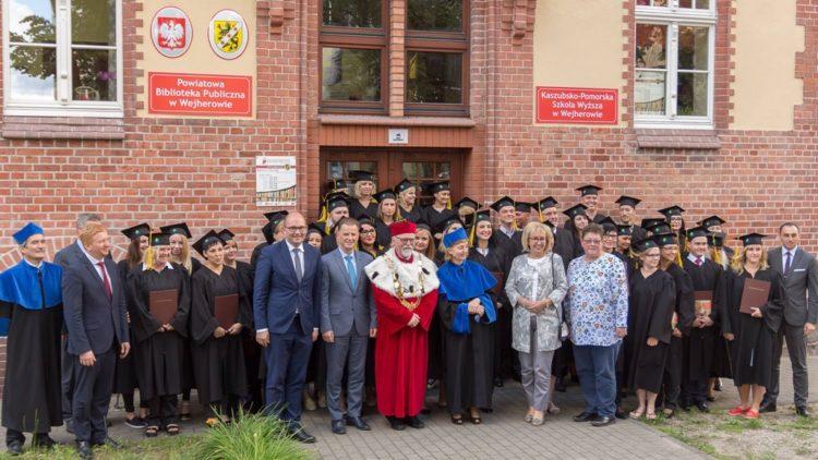 Dyplomatorium w Kaszubsko-Pomorskiej Szkole Wyższej w Wejherowie