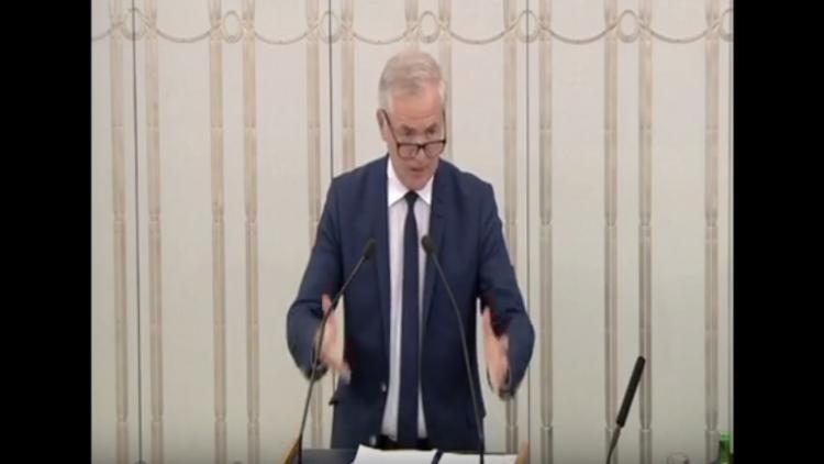 Wystąpienie senatora Sławomira Rybickiego w sprawie ustawy o Sądzie Najwyższym