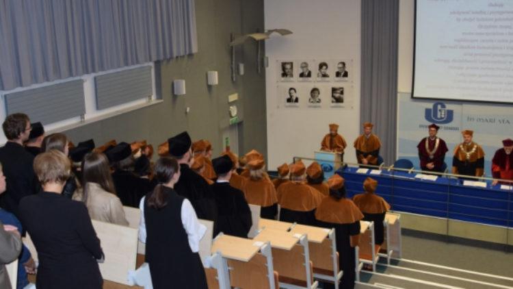 Inauguracja Roku Akademickiego na Wydziale Oceanografii i Geografii Uniwersytetu Gdańskiego