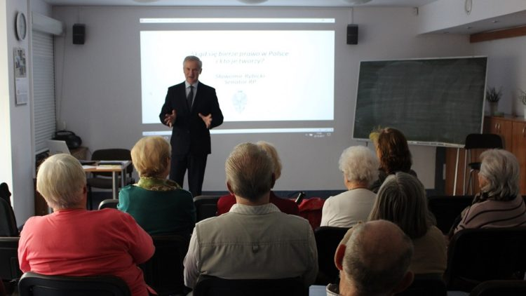 Senator na Gdyńskim Uniwersytecie Trzeciego Wieku