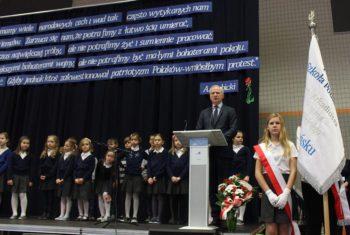 """Dzień Patrona Pozytywnej Szkoły Podstawowej im. Arkadiusza """"Arama"""" Rybickiego"""