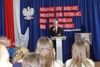 Dzień Patrona Szkoły Podstawowej nr 89 w Gdańsku im. Tadeusza Mazowieckiego