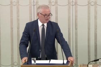 Wystąpienie Senatora dotyczące informacji o działalności Trybunału Konstytucyjnego w 2016 r.