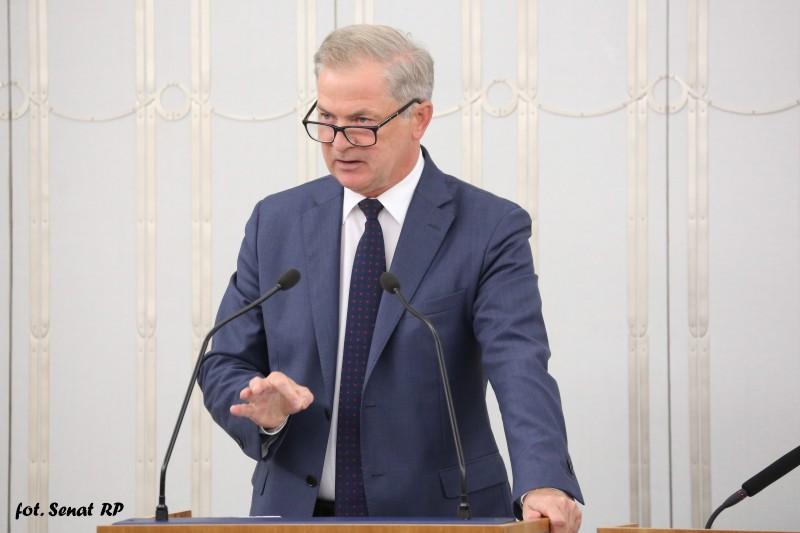 Oświadczenie Senatora w sprawie planowanego połączenia spółek Lotos i Orlen