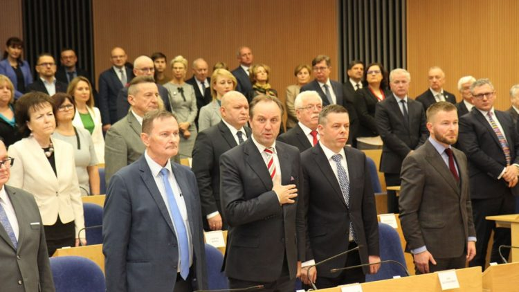 Pierwsza sesja Sejmiku