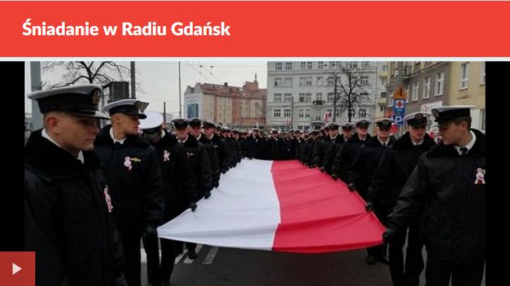 Śniadanie w Radiu Gdańsk, 12.11.2018 r.