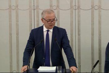 Wystąpienie Senatora w sprawie sprawozdania z działalności RPO