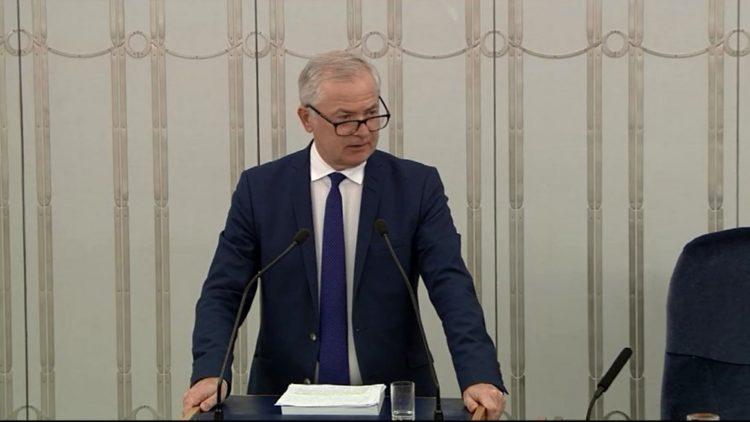 Oświadczenie Senatora skierowane do Ministra Inwestycji i Rozwoju