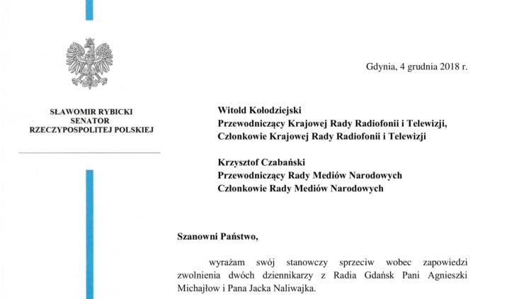 Stajemy w obronie dziennikarzy Radia Gdańsk!