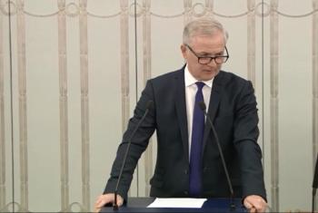 Senator Sławomir Rybicki o uchwale upamiętniającej śp. Pawła Adamowicza (cd.)