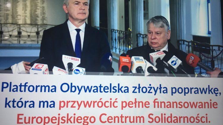 """Finansowanie ECS i """"Drogi Czerwonej""""…"""