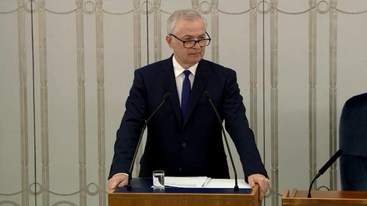 Wystąpienie Senatora w sprawie sprawozdania z działalności TK
