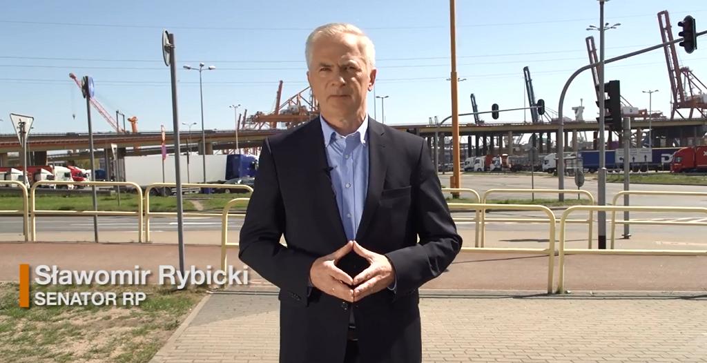 Senator Sławomir Rybicki o działaniach rządu wobec Trójmiasta i Pomorza