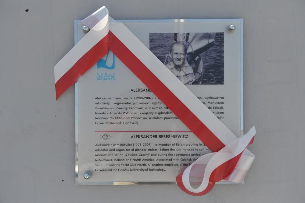 Uczczono pamięć kapitana Aleksandra Bereśniewicza